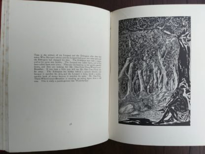 Page 56 and 57 of a 1902 copy of Just So Stories by Rudyard Kipling