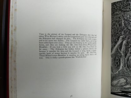 Page 56 of a 1902 copy of Just So Stories, by Rudyard Kipling