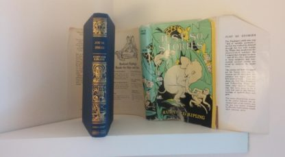 A 1907 copy of Just So Stories by Rudyard Kiping published by Doubleday company, First Edition, Second Printing, with dust jacket