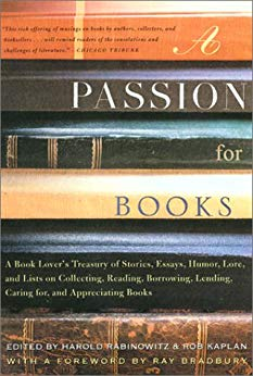 front cover of the book A passion for books