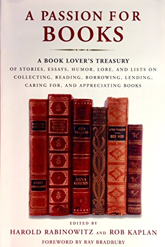 A picture of the book, A Passion for Books