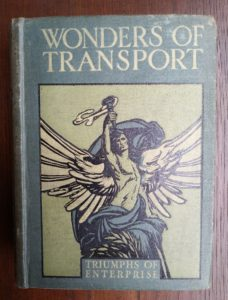 Cover of Antique Book, Wonders of Transport by Cyril Hall