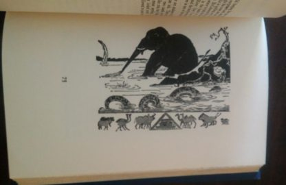 Illustration on page 97 in a 1907 copy of Just So Stories, by Rudyard Kipling, Doubleday publishing