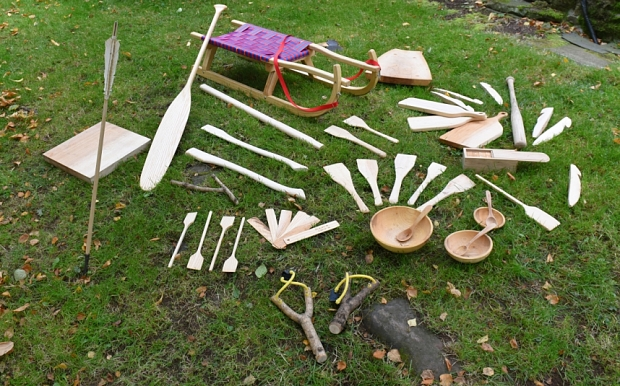 Items made from an Ash tree