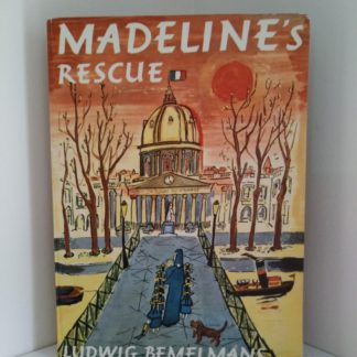 1957 Second Impression of First Edition of the book Madelines Rescue