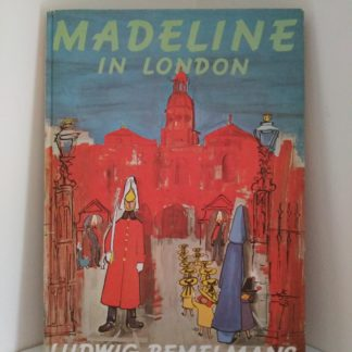 front cover of a 1977 Madeline in London, Fourth Impression of First Edition