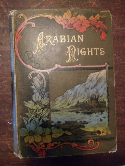 Front Cover View of a 1870s copy of Arabian Nights in the Lorne Series
