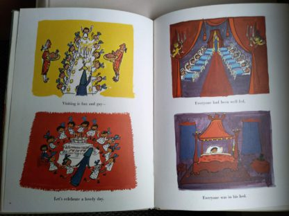 Illustrations inside a 1977 book Madeline in London, Fourth Impression of First Edition
