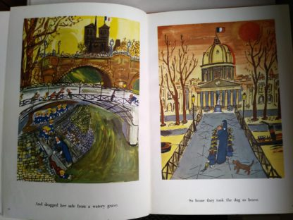 illustrations inside 1957 Second Impression First Edition Book Madeline's Rescue