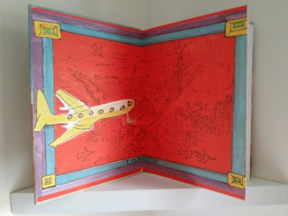 inside front cover of a 1977 book Madeline in London, Fourth Impression of First Edition