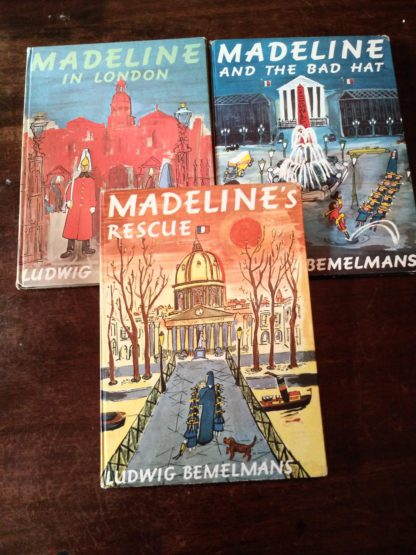 Three Early Printings of Madeline books by Ludwig Bemelmans for sale at Ash Tree Books