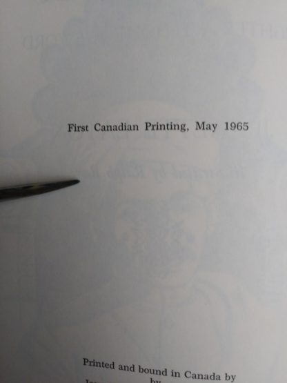 1962 copy of GANDHI, Fighter Without a Sword by Jeanette Eaton, first Canadian Printing