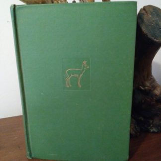 A July 1928, first printed in america, copy of Bambi, A Life in the Woods