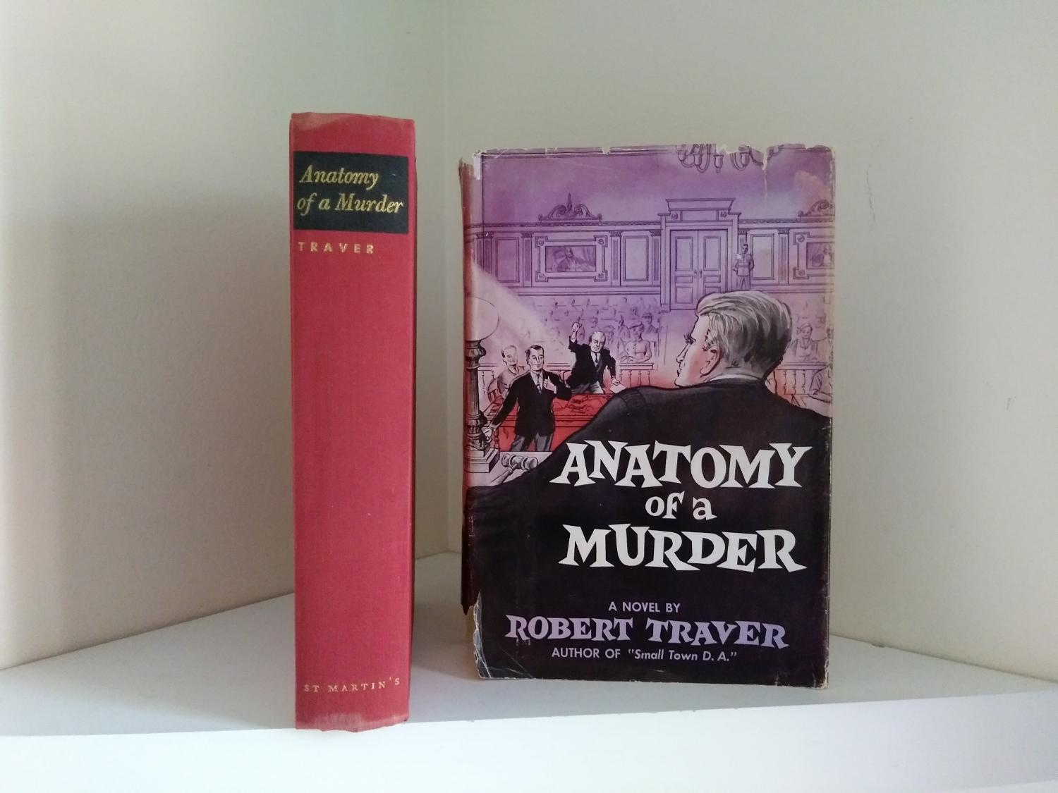 1958 Copy Of Anatomy Of A Murder 1st Ed Printing Ash Tree Books
