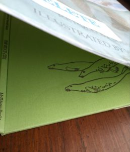 Green Cloth Binding of The Selkie Girl, retold by Susan Cooper, 1986 First Edition