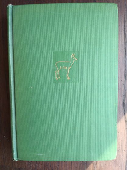 Front Cover view of a July 1928 copy of Bambi A Life in the Woods First Printing in America