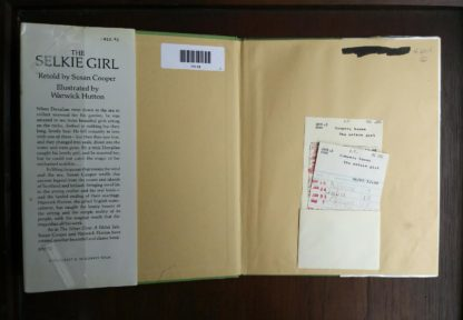 Library copy of The Selkie Girl, retold by Susan Cooper, 1986 1st Edition