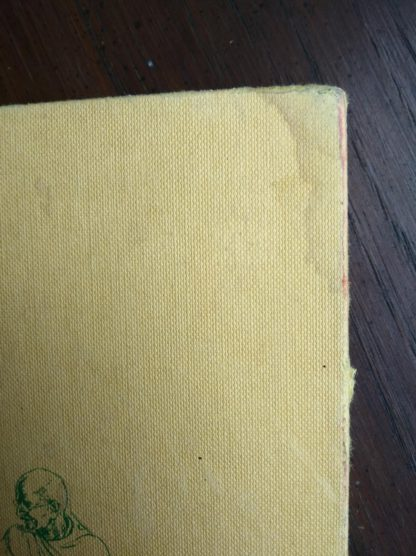 Watermark damage on a copy of GANDHI Fighter Without A Sword, 1962 First Canadian Edition and Printing