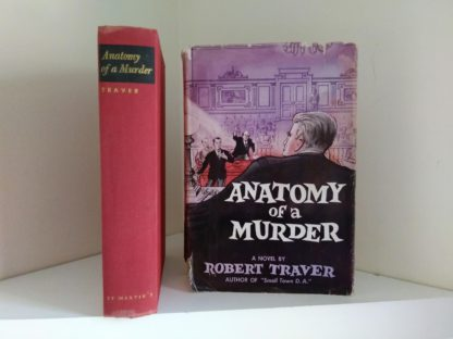 a 1958 copy of Anatomy of a Murder, 1st Edition & First Printing with original dust jacket
