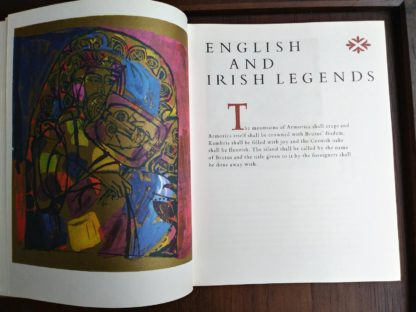 english and Irish legends in Heroes of Folk Tale and Legend first printing 1970 copy