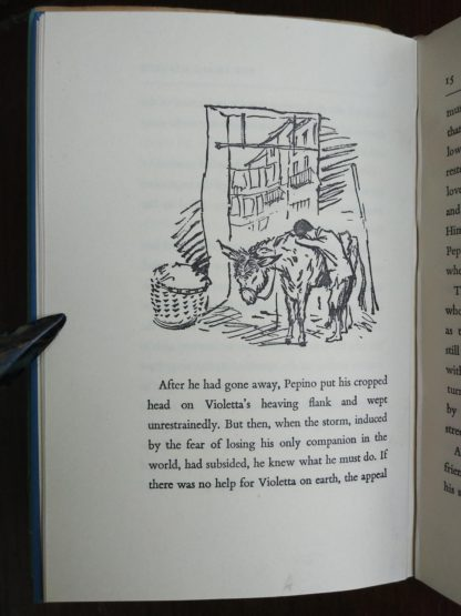 page 7 in a 1951, 1st edition and printing of the book, A Small Miracle, by Paul Gallico