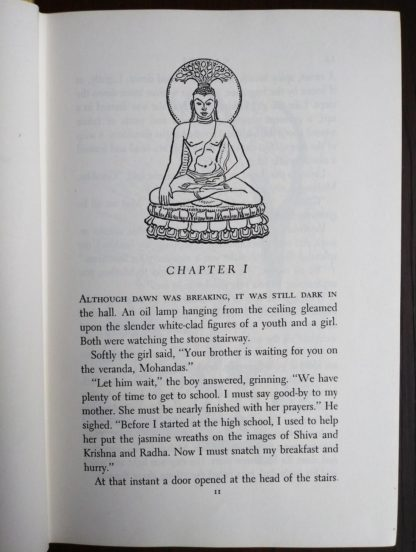 page 11 in the book, GANDHI Fighter Without A Sword, 1962 First Canadian Edition and Printing