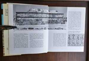 page 12 and 13 in a 1970 copy of The World of the Aztecs by William H. Prescott