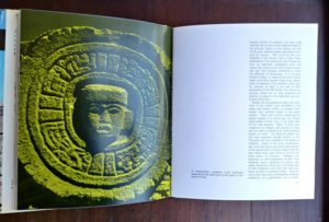 photograph on page 70 in a 1970 copy of The World of the Aztecs by William H. Prescott