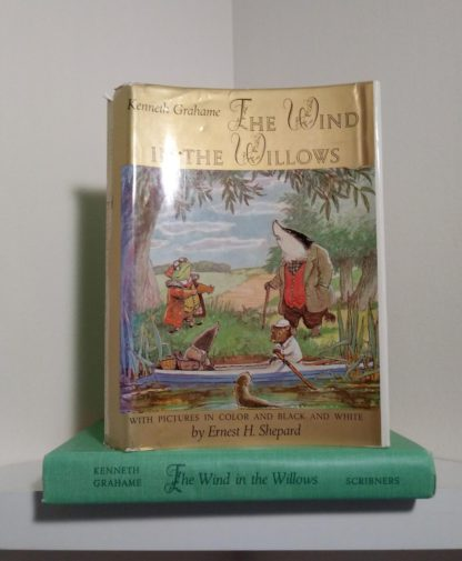 1960 Golden Anniversary Edition of The Wind in the Willows by Kenneth Grahame