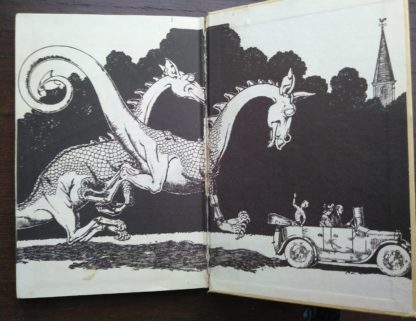 1963, Poo-Poo and the Dragons by C.S Forester, 4th impression, back endpaper and paste-down