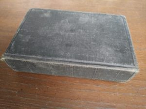 a 200-year-old Bible, published in 1812 by the American Bible Society