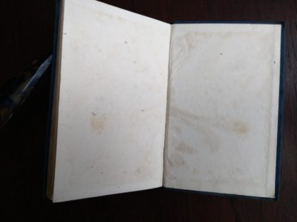 back paste-down and end paper in a 1899 copy of A Midsummer-Night's Dream