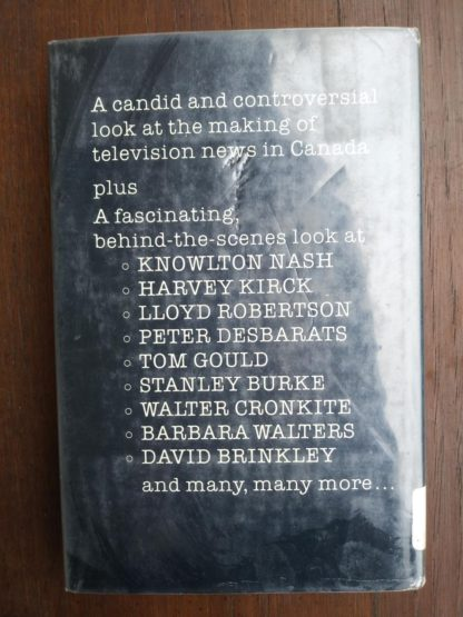 back side of a 1980 copy of Smoke & Mirrors by Peter Trueman
