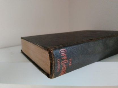 bottom spine view of a 1933 copy of The Kennel Murder Case by S. S. Van Dine