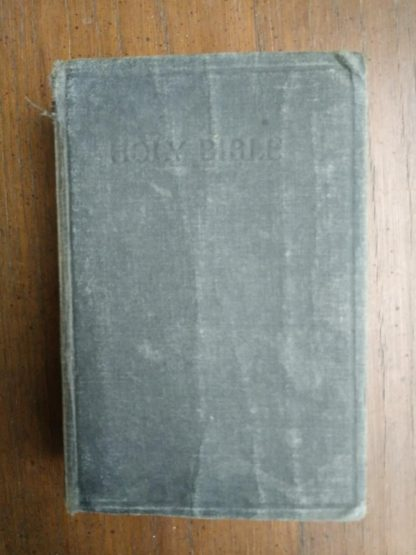 front cover of a 200-year-old Bible, published in 1812 by the American Bible Society