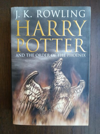 front cover of a 2003 copy of Harry Potter and the Order of the Phoenix, stated First Canadian Edition
