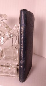 spine view of A lovely, scarce 1899 pocketbook copy of A Midsummer Nights Dream