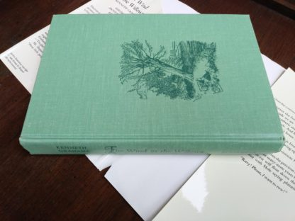 spine view of a 1960 Golden Anniversary Edition of The Wind in the Willows by Kenneth Grahame