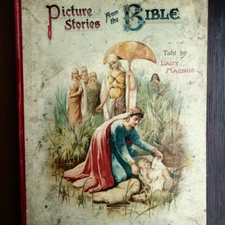 Picture Stories from the Bible published by Raphael Tuck & Sons with chromolithograph illustrations by John Lawson