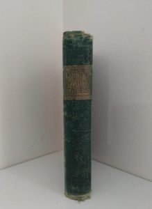 Spine View of an Antique Caxton Edition of Andersens Fairy Tales
