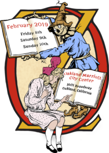 The 52nd California International Antiquarian Book Fair Oz poster