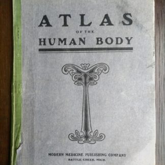 Vintage Anatomy Atlas of the Human Body