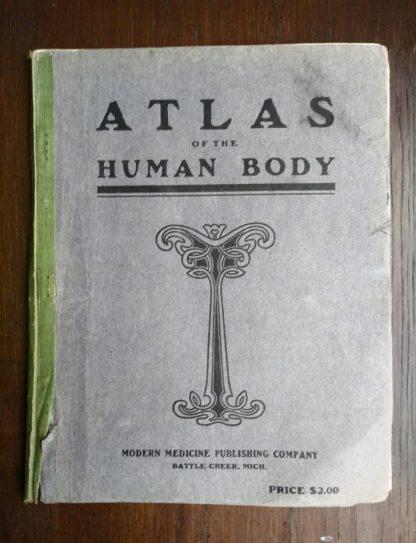 Vintage Anatomy Atlas of the Human Body