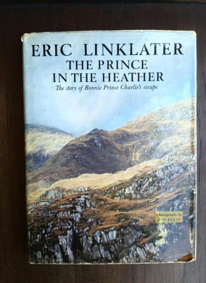 front dust jacket on a 1966 copy of The Prince in the Heather by Eric Linklater