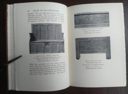 page 60 in a 1925 copy of Chats on Old Furniture by Arthur Hayden