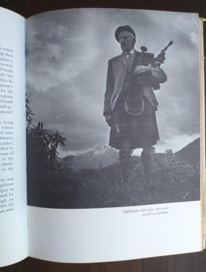 photograph of a highlander in a 1966 copy of The Prince in the Heather by Eric Linklater