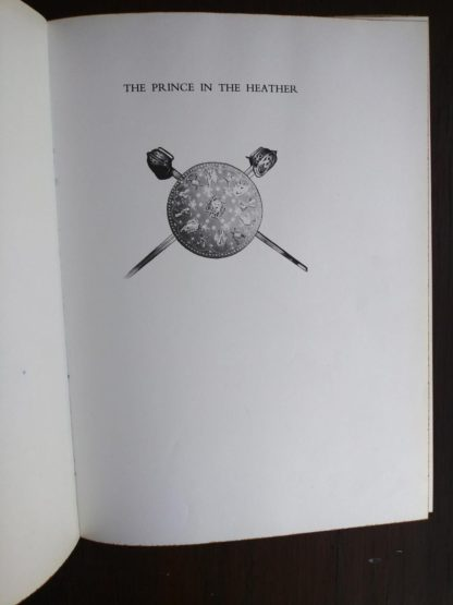 title inside a1966 copy of The Prince in the Heather by Eric Linklater