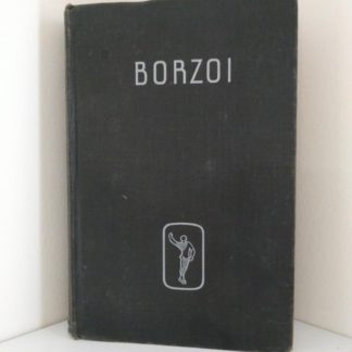 BORZOI by Igor Schwezoff first edition front hardcover