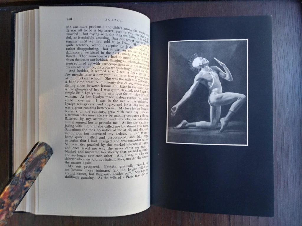 BORZOI by Igor Schwezoff first edition photograph of Author