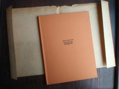 1942 Vintage London by John Betjeman first edition